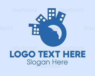 Dream - Sleepy City logo design