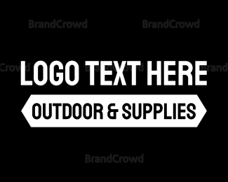 Outdoor - Outdoor Supplies logo design