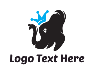 King - Elephant King logo design