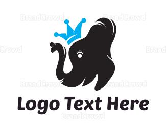 King - Elephant King logo design