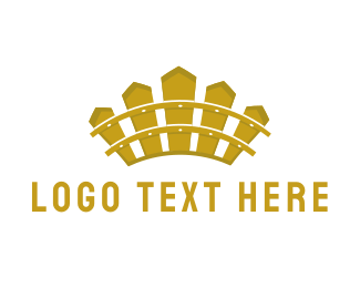 Fencing - Fence Crown logo design