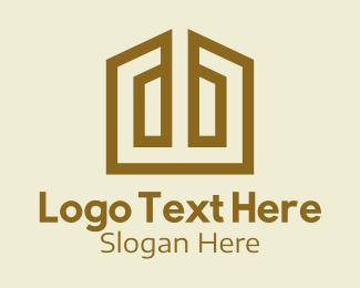 House - Home Building Construction logo design