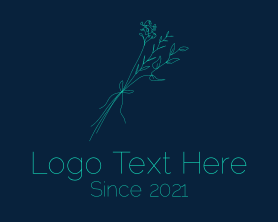 Bouquet - Minimalist Flower Bouquet logo design
