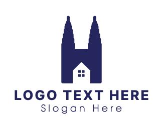 Home - Home Church logo design