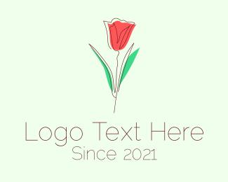 Wedding Coordinator - Rosebud Flower Emblem logo design