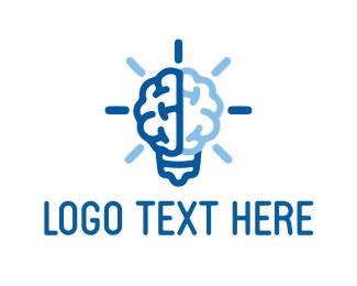 Recruiter - Bright Brain logo design
