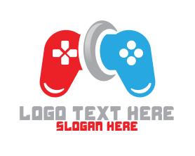 Geek - Game Controller logo design