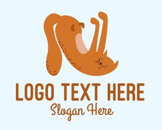 Playful - Playful Cat Letter N  logo design