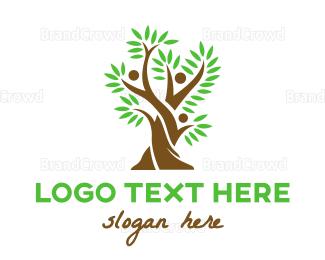 Crowdsourcing - Tree Fern People logo design