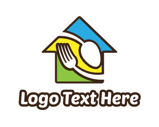 """Restaurant Food House"" by LogoBrainstorm"