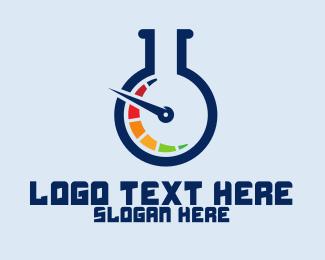 Lab - Speed Lab logo design