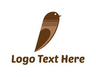 Marker - Choco Bird logo design
