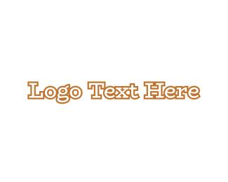 Antique - Traditional Golden Wordmark logo design