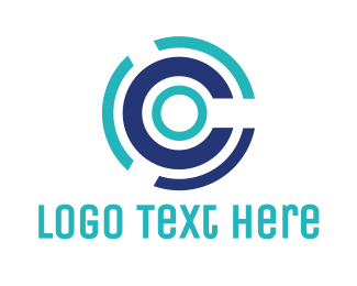 Tire - Round C Disc logo design