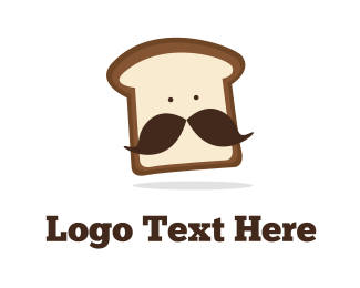 Breakfast - Mister Bread logo design