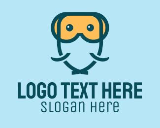 Ocean Park - Scuba Fish logo design