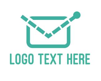 Postcard - Electronic Mail logo design