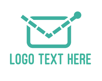 Mail - Electronic Mail logo design