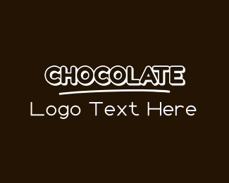 Brown Cupcake - Sweet Chocolate  logo design