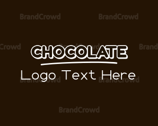 Chocolate - Sweet Chocolate  logo design