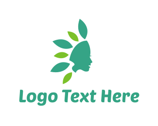 Aromatherapy - Flower Girl logo design
