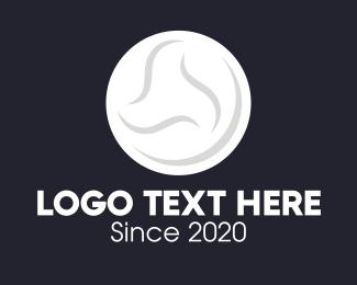 Moon - White Moon logo design