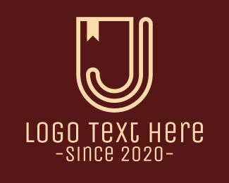"""Shield Banner Letter J"" by RistaDesign"