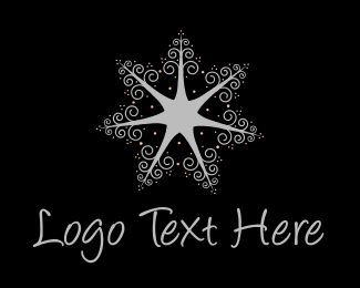 Nail - Star Trees  logo design