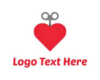 Key & Heart Logo