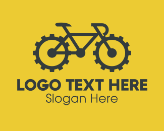 Biking - Bike Gear Reparation logo design