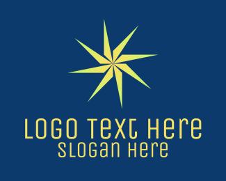 Jagged - Electric Energy Star Company logo design