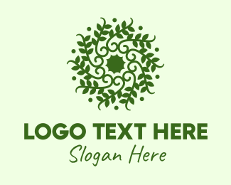 Vine - Decorative Green Vines  logo design