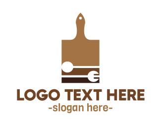 Chef - Cutting Board logo design