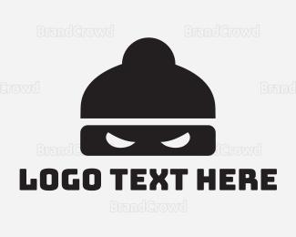 Fighting - Ninja Mask logo design