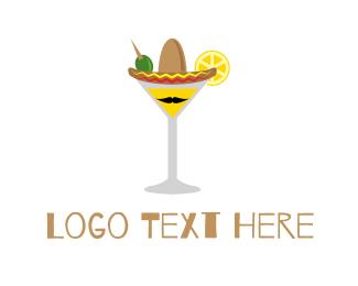Taqueria - Mexican Cocktail logo design