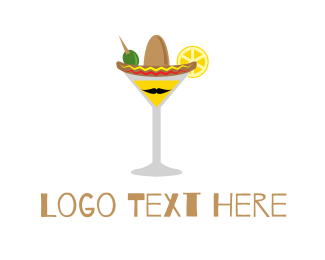 Cocktail - Mexican Cocktail logo design