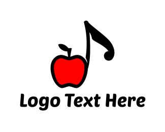 Apple - Apple Music logo design
