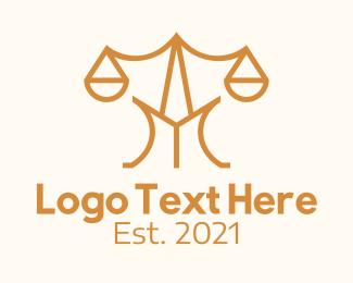 """Law Scale Letter M"" by Alexxx"