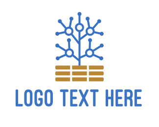 Online Learning - Circuit Tree logo design