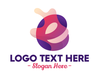 Liquor Shop - Colorful Letter E Winery  logo design