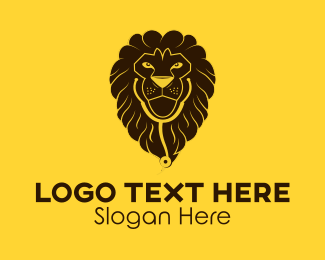 Medical Equipment - Brown Medical Lion logo design