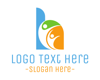 Group - Letter H Group logo design