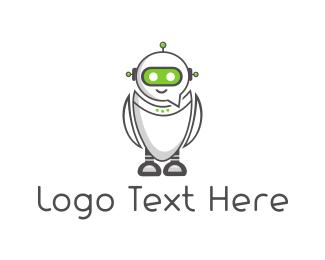 Scifi - Chat Robot logo design