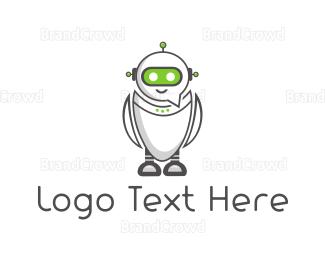 Robot - Chat Robot logo design