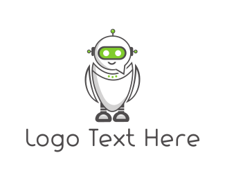 Android - Chat Robot logo design