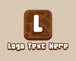 Earth - Earthly Playful Letter logo design