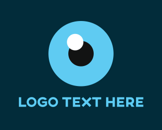 Look - Blue Eye logo design