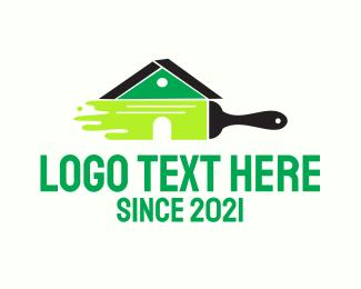 Renovation - Home Renovation Painter logo design