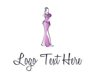 Gown - Fashion Girl logo design