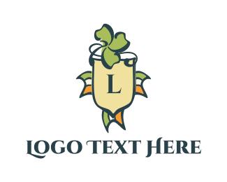 Pub - Irish Shield logo design